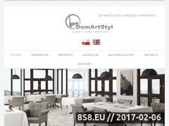 Miniaturka domeny domartstyl.pl