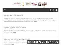 Miniaturka www.domasazu.pl (Stół do masażu)