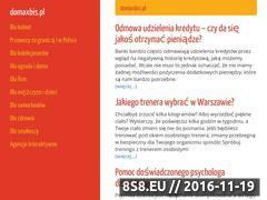 Miniaturka domeny www.domaxbis.pl