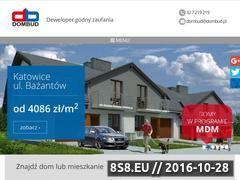 Miniaturka domeny www.dombud.pl