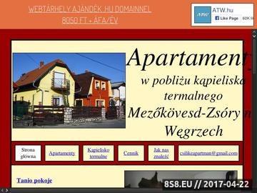 Zrzut strony Noclegi Węgry - Pokoje przy kąpielisku termalnym