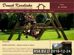 Miniaturka domeny www.domekkarolinka.pl