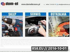 Miniaturka domeny domelkrosno.pl
