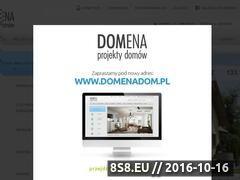 Miniaturka domeny www.domenaprojekt.pl