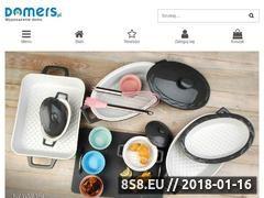 Miniaturka domers.pl (Wyposażenie domu Domers)