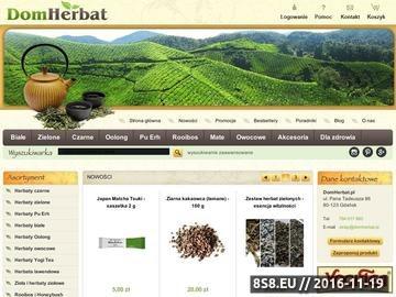Zrzut strony Herbata - sklep, zioła
