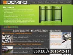 Miniaturka domeny www.domino-bramy.pl