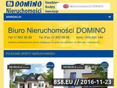Miniaturka domeny domino.rzeszow.pl