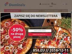 Miniaturka domeny www.dominospizza.pl