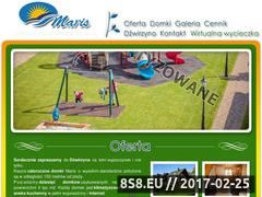 Miniaturka domeny www.domki-maris.pl