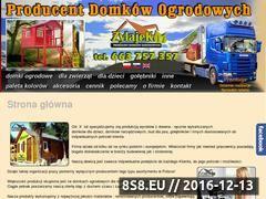 Miniaturka domeny www.domki-zylajek.pl
