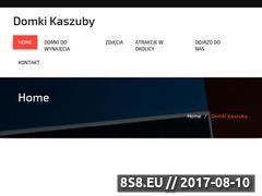 Miniaturka domki.kaszuby.pl (Noclegi Kaszuby - Pod Jabłonią)