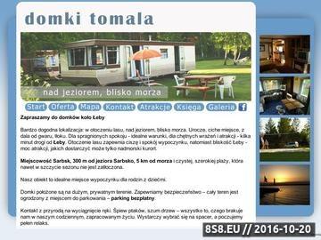 Zrzut strony Domki w Sarbsku - blisko Łeba i piękna plaża