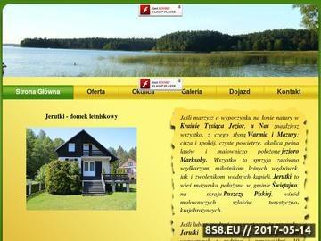 Zrzut strony Domek na Mazurach - Jerutki