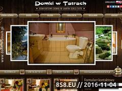 Miniaturka domeny www.domkiwtatrach.pl