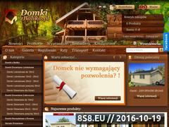 Miniaturka domeny www.domkizbalika.pl