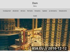 Miniaturka domeny www.dommamy.pl