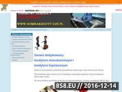 Miniaturka domeny domnakredyt.dzs.pl