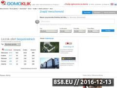 Miniaturka domeny www.domoklik.pl