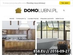 Miniaturka Blog o wykańczaniu wnętrz (www.domolubni.pl)
