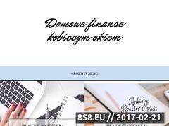 Miniaturka domowefinanse.info (Blog o zarabianiu i oszczędzaniu pieniędzy)