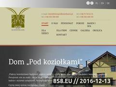 Miniaturka Szklarska Poręba - noclegi (dompodkoziolkami.com.pl)