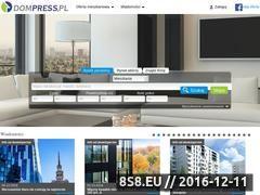 Miniaturka domeny www.dompress.pl