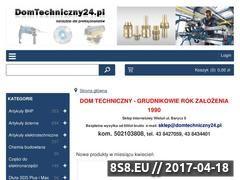 Miniaturka domeny domtechniczny24.pl