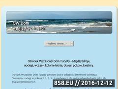Miniaturka domeny www.domturysty.com.pl