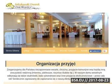Zrzut strony Dom weselny - Sołtykowski Dworek