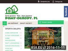 Miniaturka domeny www.domy-ogrody.pl