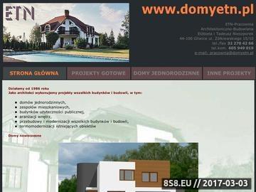 Zrzut strony Projekty domów Bytom