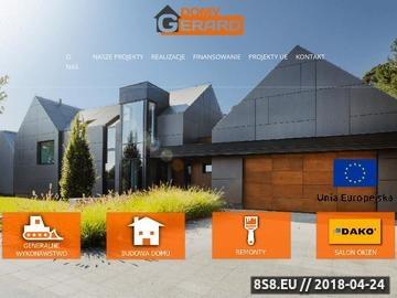 Zrzut strony Profesjonalna budowa domów