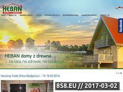 Miniaturka domeny www.domyheban.pl