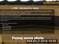 Miniaturka domeny www.domyjakzbali.pl