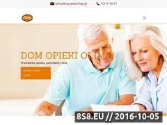 Miniaturka domeny www.domyopiekiolimp.com