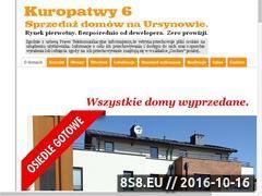 Miniaturka domeny www.domyursynow.pl