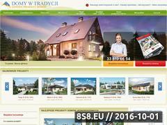 Miniaturka domeny www.domywtradycji.pl