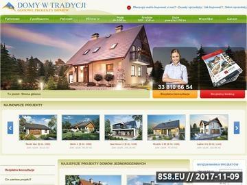 Zrzut strony Gotowe projekty domów