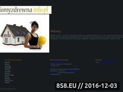 Miniaturka domeny www.domyzdrewna.info.pl