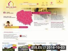 Miniaturka domeny www.domzadom.pl