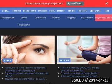 Zrzut strony Apteka internetowa Dom Zdrowia
