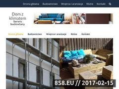 Miniaturka domzklimatem.pl (Publikacje o budownictwie, wnętrzach i ogrodach)