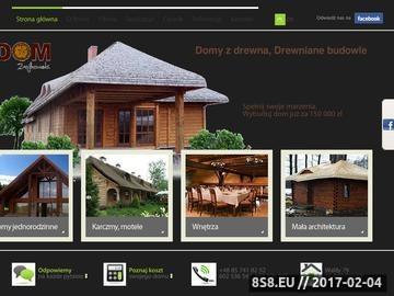 Zrzut strony Domy drewniane