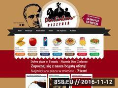 Miniaturka domeny www.doncorleonepizza.pl