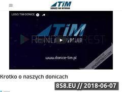 Miniaturka domeny donice-tim.pl