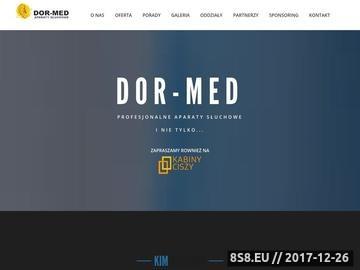 Zrzut strony Badanie słuchu DOR-MED
