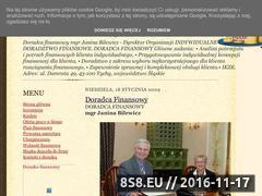 Miniaturka domeny doradca-finansowy.blogspot.com