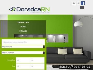 Zrzut strony Umowy pośrednictwa na wyłączność w biurze nieruchomości DoradcaRN.pl