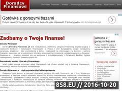 Miniaturka domeny doradcy-finansowi.pl